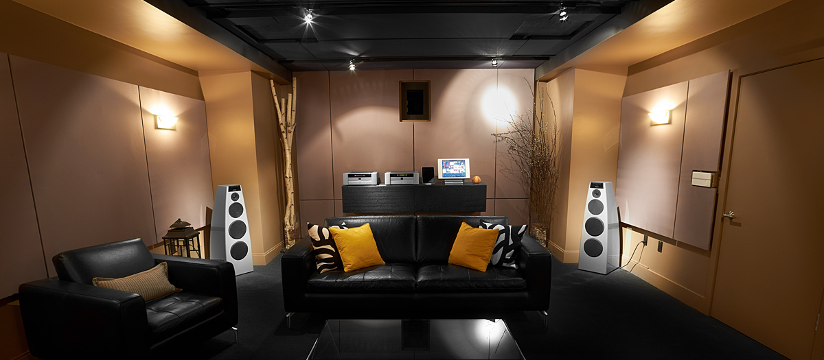 header space marine listening room