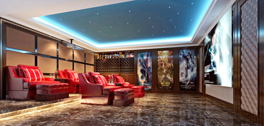 Architects, 'Wow' Your Clients with These Custom Home Theater Ideas