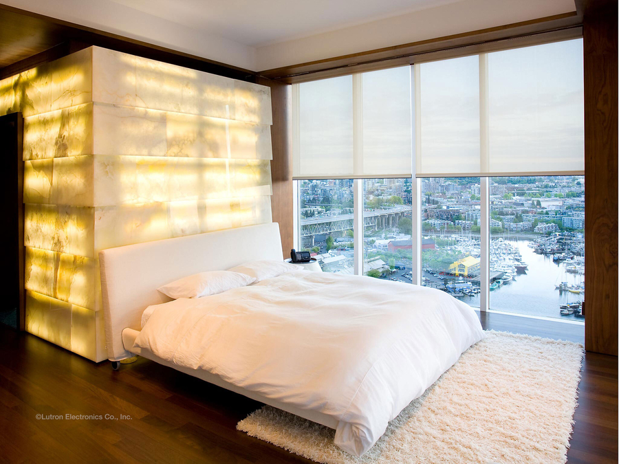 The Finishing Touch to Interior Design: Motorized Shades
